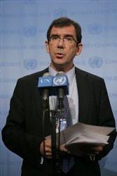 French Ambassador to the United Nations, Jean-Maurice Ripert (AP)