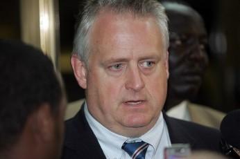 Former US special envoy for Sudan, Richard Williamson (AFP)