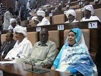 نواب برلمانيون في احدي جلسلت المجلس الوطني