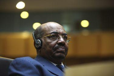 الرئيس عمر البشير في احتفال بافتتاح قاعة المؤاتمرات الجديدة للاتحاد الافريقي امس السبت 28 يناير 2012