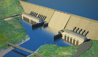 The planned Grand Ethiopian Renaissance Dam project (AP)