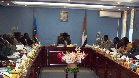 South Sudan government in a cabinet meeting (file/ST)