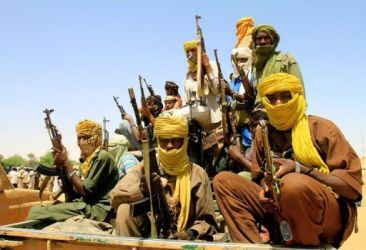 Fighters from Darfur's Justice and Equality Movement (AFP)