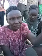 Aruar Deng Bair, who has been displaced to Melijo in Eastern Equatoria, recounts horrors of fighting when she fled Bor Jonglei state. February 14, 2014 (ST)