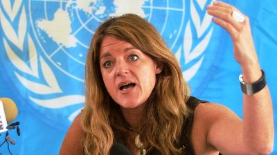 The head of the UN Mission in South Sudan (UNMISS), Hilde Johnson (Photo: Getty Images)