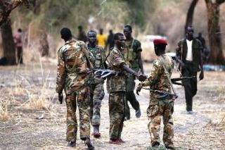 South Sudanese rebels pictured in Jonglei state on 31 January 2014 (Photo: Reuters/Goran Tomasevic)