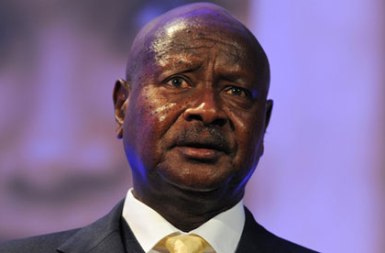 Ugandan president Yoweri Museveni (Photo: Carl Court/AP)