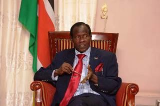 South Sudan's vice-president, James Wani Igga (Photo: Larco Lomayat)