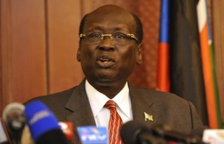 South Sudan's foreign affairs minister, Barnaba Marial Benjamin (Photo: Getty Images)