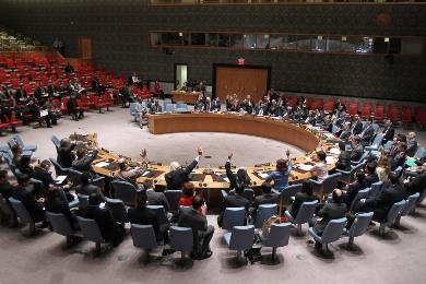 The UN Security Council votes unanimously to impose sanctions on those blocking peace in South Sudan (Photo: UN/Devra Berkowitz)