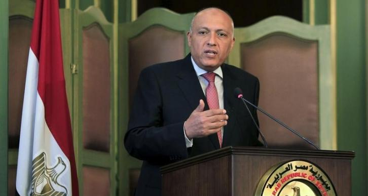 Egyptian Foreign Minister Sameh Shoukry (Reuters photo)