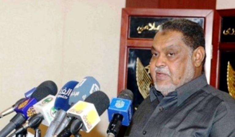 Sudan finance minister Mohamed Osman al-Rikabi  (ST Photo)