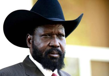 South Sudanese president Salva Kiir (AFP)