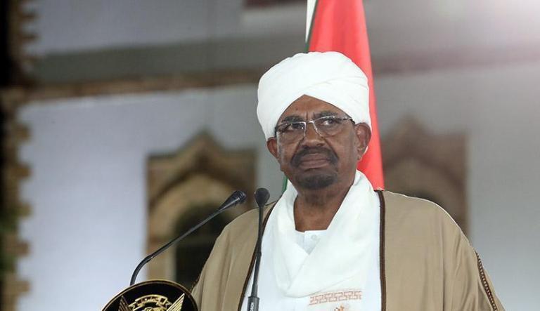 Omer al-Bashir declares the state of emergency on 22 February 2019 (SUNA photo)